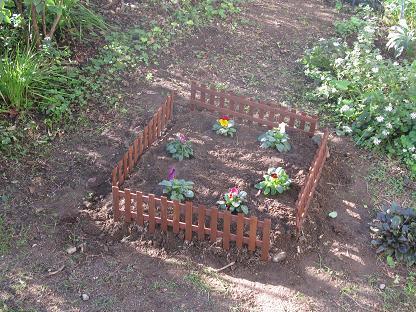 あーちゃんの花壇