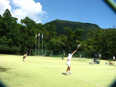 雲仙国際テニスコート